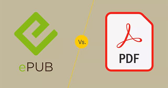 EPUB và PDF có gì khác biệt?