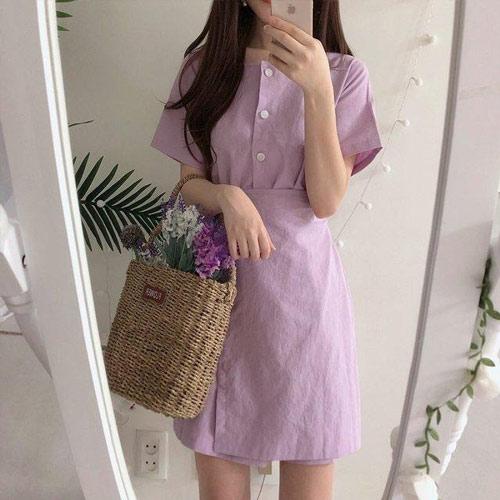 Váy tím lilac