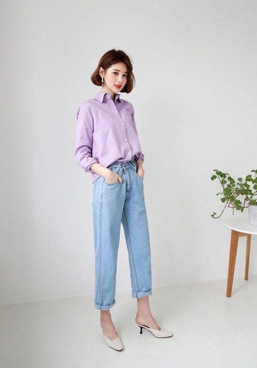 Màu nào hợp với tím lilac