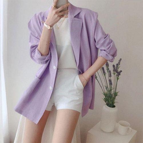 Mặc đẹp với tím lilac