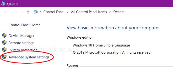 Bỏ hiệu ứng động trên Windows 10