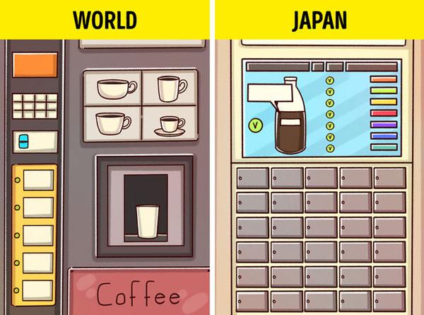 Nhật Bản có cả dịch vụ đặt một tách cà phê thông qua ứng dụng