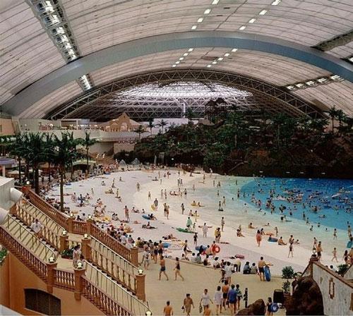 Seagaia Ocean Dome, bãi biển trong nhà lớn nhất thế giới