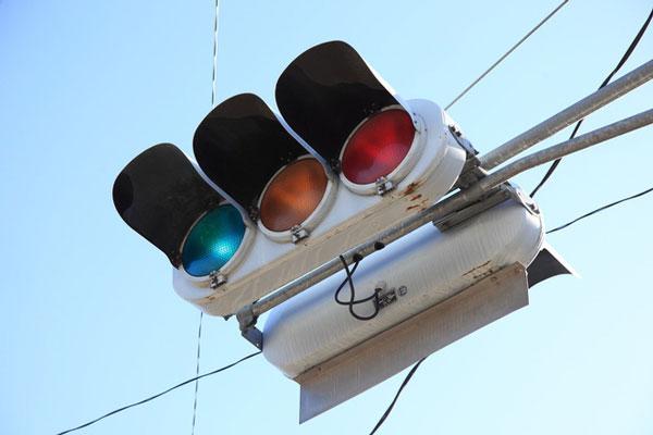 Đèn giao thông ở Nhật có màu xanh lục thay vì xanh lá