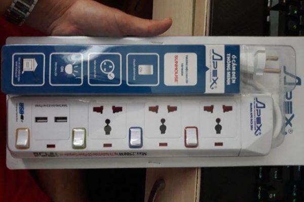 Ổ cắm điện APE-OC2-3RU