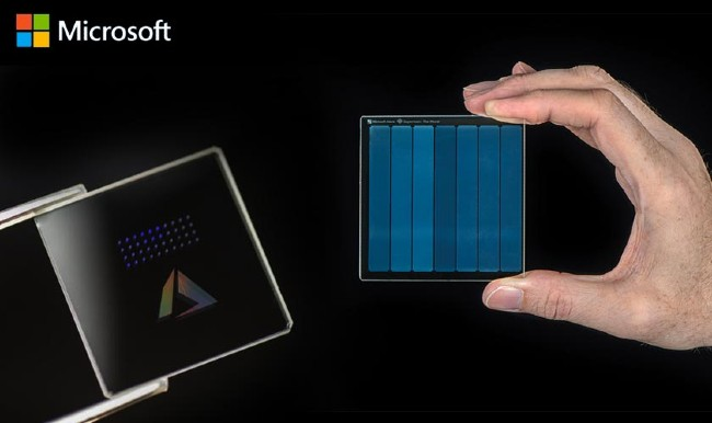 Ổ lưu trữ bằng kính của Microsoft