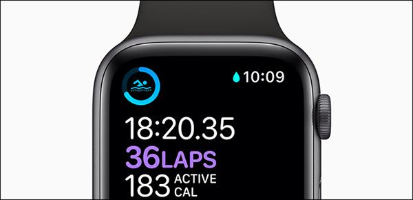Chế độ dưới nước của Apple Watch