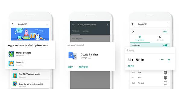 Ứng dụng Google Family Link có rất nhiều tính năng độc đáo