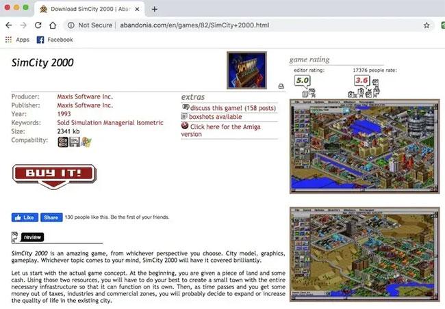 Abandonia là một trang web chuyên về phần mềm và game không được hỗ trợ bởi chủ sở hữu ban đầu