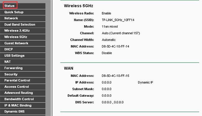 WAN IP (Địa chỉ IP mạng WAN)