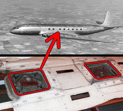 Tại sao cửa sổ máy bay lại hình tròn?