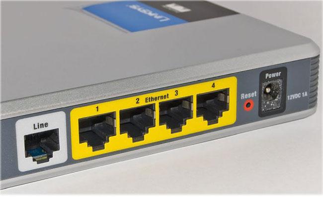 Quản lý quyền truy cập vào router
