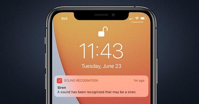 Sound Recognition: Cách bật Nhận biết âm thanh iOS 14