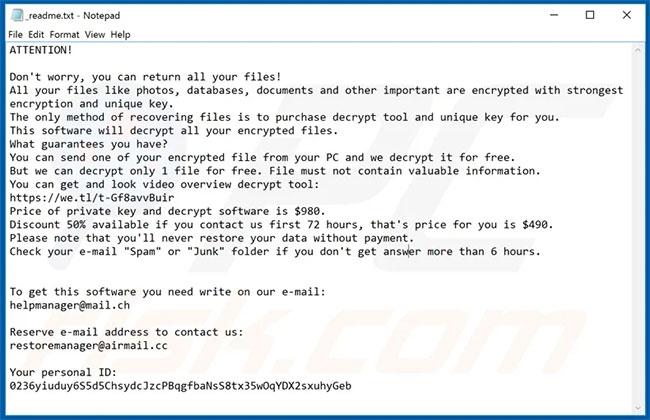 Cách xóa ransomware Moba khỏi hệ điều hành