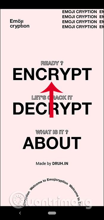 Nhấn Encrypt