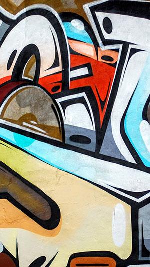 hình graffiti iphone