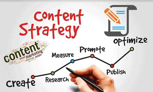 Hãy suy nghĩ cẩn thận về nội dung nền tảng khi bạn thiết lập một chiến lược content marketing mới