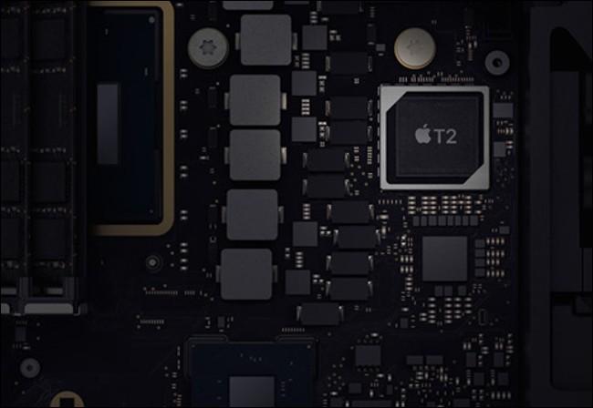 Chip T2 đảm nhiệm rất nhiều nhiệm vụ trên máy tính Mac