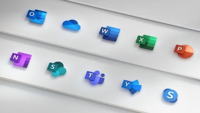 Bộ icon ứng dụng mới của Microsoft được thiết kế theo phong cách Fluent Design