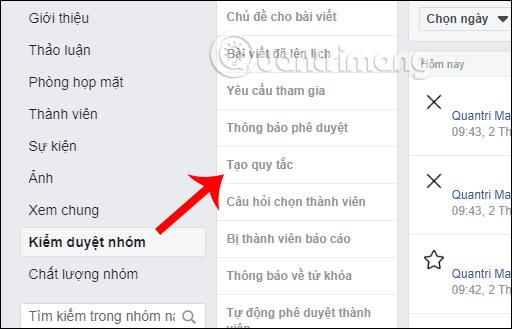 Cách tạo quy tắc nhóm Facebook - Ảnh minh hoạ 11
