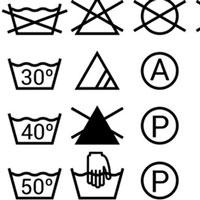 Giải mã ký hiệu trên quần áo