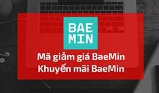 Mã giảm giá Baemin, mã khuyến mại Baemin