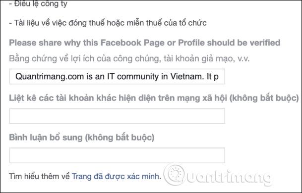 Hướng dẫn đăng ký tích xanh Facebook - Ảnh minh hoạ 3