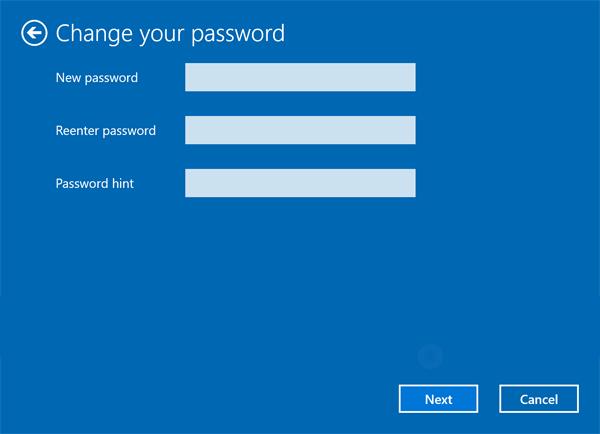 Bấm chuột phải vào người dùng mong muốn ở giữa, rồi chọn Set Password