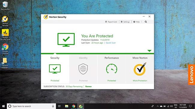 Cách loại trừ file khi quét bằng Norton Antivirus