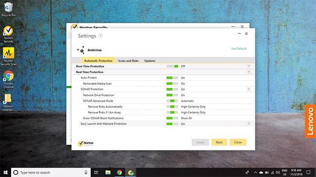 Cách loại trừ file khi quét bằng Norton Antivirus - Ảnh minh hoạ 3