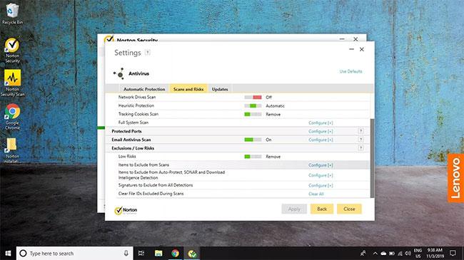 Cách loại trừ file khi quét bằng Norton Antivirus - Ảnh minh hoạ 4