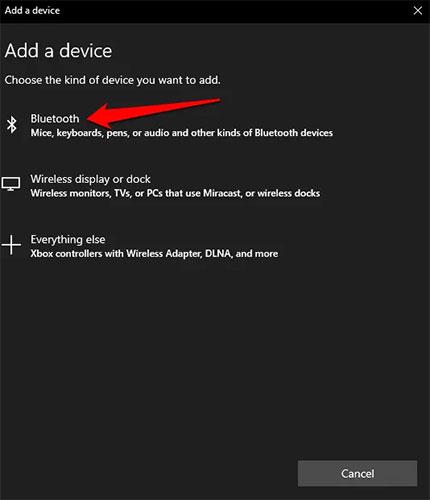 Trong phần Wireless devices, bạn có thể thấy một công tắc bật/tắt Bluetooth
