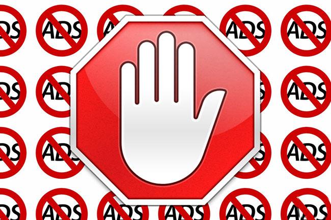 Chặn quảng cáo bằng trình chặn quảng cáo universal trong Connectify Hotspot