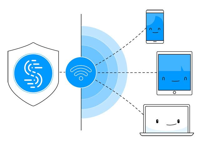 Chia sẻ VPN qua WiFi hotspot