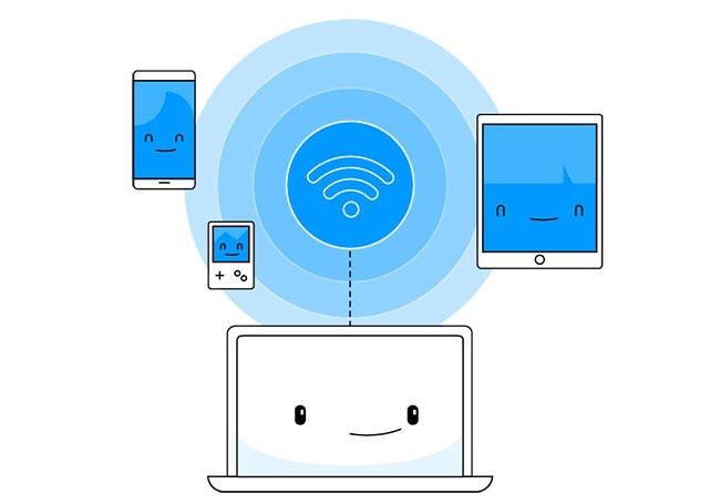 Chia sẻ VPN qua WiFi hotspot trên máy tính Windows