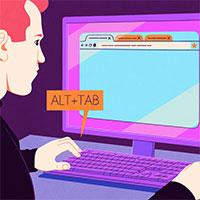 Cách thay đổi những gì Alt+Tab hiển thị trong Windows 10