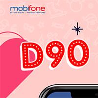 Cách đăng ký gói D90 Mobifone nhận 30GB