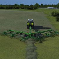 Swadro 200: Cỗ máy 'bạch tuộc' cào gọn 20 hecta cỏ mỗi giờ và biến hình như Transformer