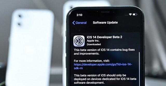iOS 14: Ra mắt iOS 14 beta 2 với nhiều tính năng mới