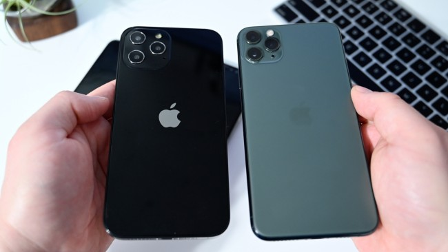 iPhone 12 Pro Max, though larger than 0.2 inches, is about the same size as the iPhone 11 Pro Max