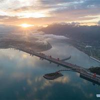 Ngắm đập Tam Hiệp kỳ vĩ qua 10 ảnh chụp trên không đẹp ngất ngây