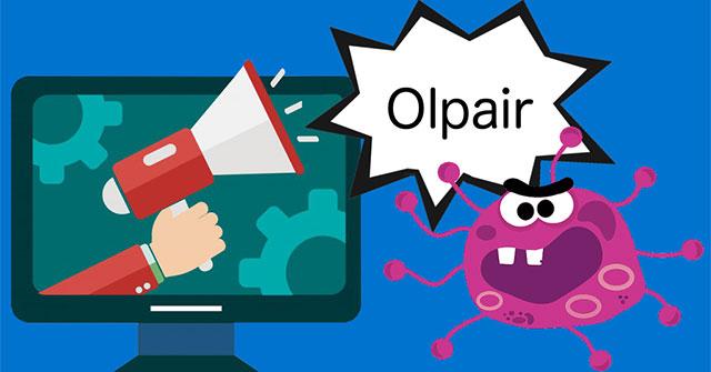 Virus Olpair là gì và làm thế nào để loại bỏ nó?