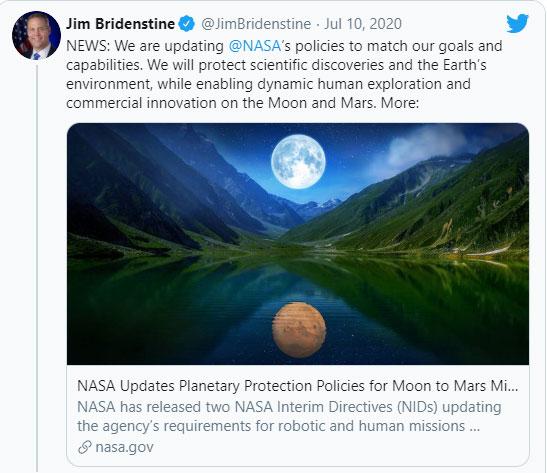 Thông báo từ NASA