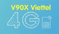 Cách đăng ký gói V90X Viettel nhận 30GB
