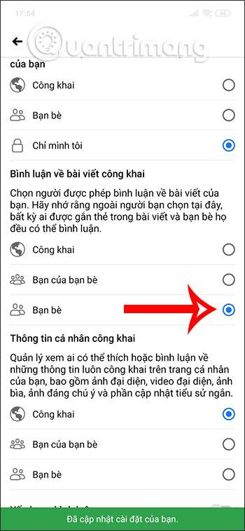 Cách tắt bình luận trên Facebook - Ảnh minh hoạ 3