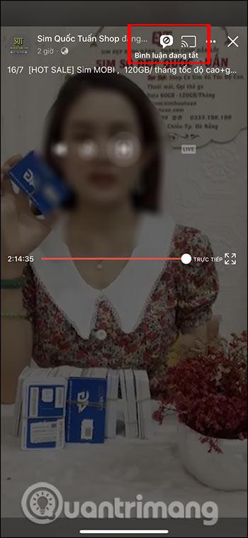 Cách tắt chat khi xem Live Stream trên Facebook - Ảnh minh hoạ 2