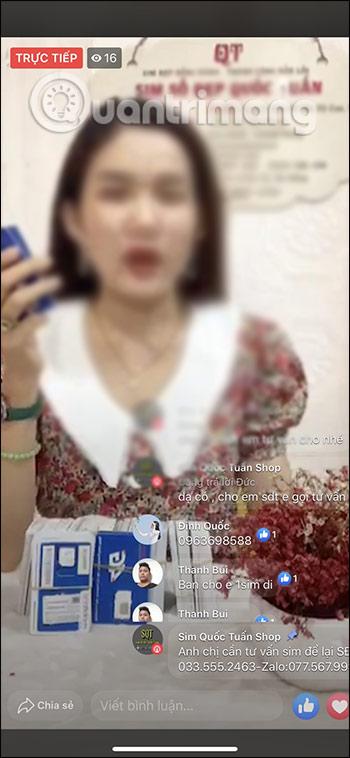 Cách tắt chat khi xem Live Stream trên Facebook - Ảnh minh hoạ 4