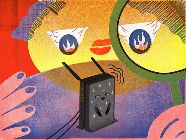 Kết nối máy tính hoặc thiết bị với mạng thông qua WiFi không khác gì kết nối nó với mạng bằng cáp Ethernet
