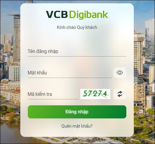 Hướng dẫn đăng ký VCB Digibank (Internet Banking Vietcombank)