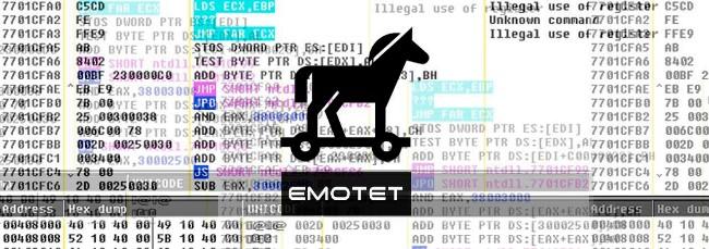 Emotet là một trojan nguy hiểm chuyên đánh cắp thông tin ngân hàng của nạn nhân